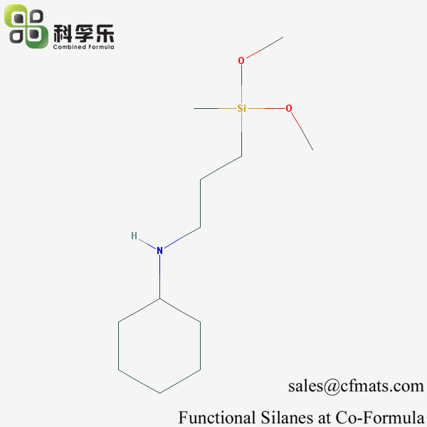 3-[N-[dimethoxy(methyl)silyl]propyl]cyclohexanamine