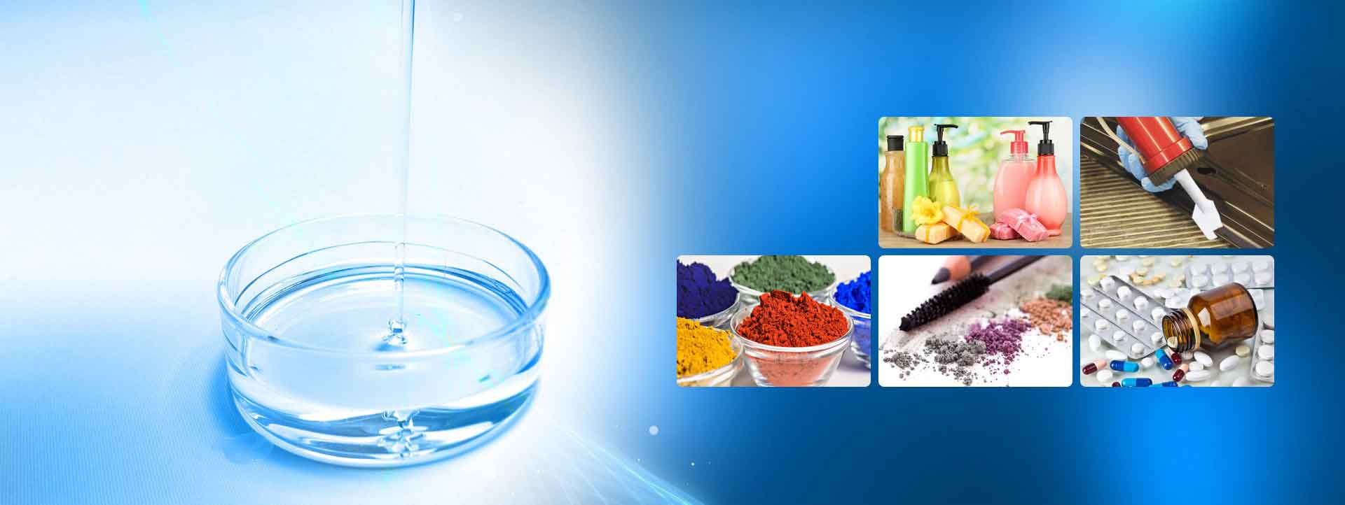 Co-Formula Silicone Fluids, Polymers & Additives